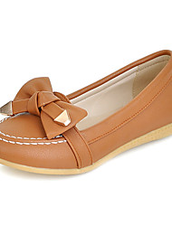 Chic Suede Flat Heel Flats With Bowknot Casual Shoes (More Colors)