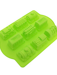 Train Shaped Silicone Cake Cookie Mould