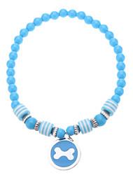Collares para Perros Azul / Rosado Primavera/Otoño S / M / L Plástico
