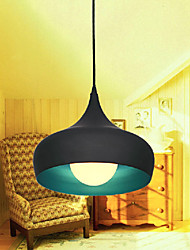 Max 60W Modern/Contemporary / Retro / Bowl Mini Style Painting Pendant Lights Dining Room / Kitchen / Hallway