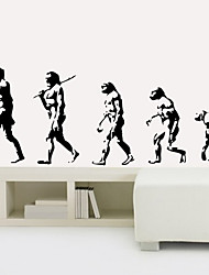 People Evolution Wall Sticker