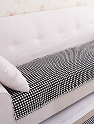 Cotton Black and White Lace Sofa Cushion 70*150