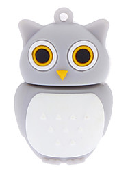 8GB Soft Rubber Night Owl USB Flash Drive
