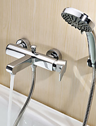 Sprinkle® Shower Faucets Wall Mount with Chrome Single Handle Two Holes