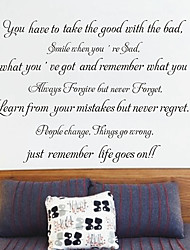 Lembre-Life Goes On Wall Stickers