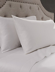 Simple&Opulence® 2-Pack Pillowcase set, 300 TC 100% Cotton Solid White