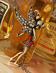Korean jewelry wholesale lovely girl necklace N87