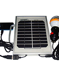 2W Solar Mobile Phone Charger Sistema de iluminação com interface USB (Cis-53325-2W)