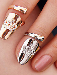 Women's Crown-Shaped Nail Finger Ring(Random Color)