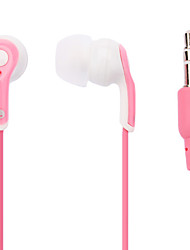 Stylish Pink Stereo In-Ear Earphone for iPhone 6 iPhone 6 Plus