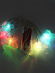 10 LED a pile di colore Cambiare String Lights Fata per la festa di Natale (cis-57113)