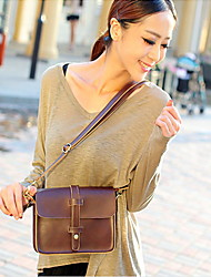 Vintage PU Shoulder/Cross Body Bags For Casual Occasion