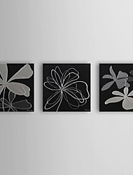 Hand Painted Oil Painting Floral with Stretched Frame Set of 3 1309C-FL0833