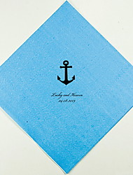 Personalized Wedding Napkins Anchor(More Colors)-Set of 100