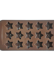 Star Shape Chocolate Candy Mold