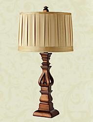 Lampe de table de luxe de style européen avec un corps en résine (de petite taille) 220-240v