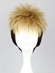 Cosplay Wigs Attack on Titan Jean Kirstein Yellow Short Anime Cosplay Wigs 30 CM Heat Resistant Fiber Male