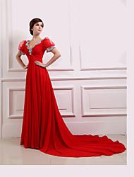 Women's Dresses , Chiffon Casual/Party/Work Qiandu