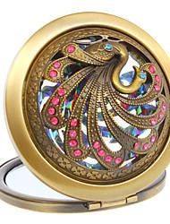 Swan Maquillage Motif Mirror