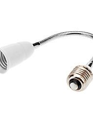 E27 to E27 60cm LED Light Bulb Flexible Extend Adapter Socket