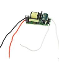 8W LED courant constant pilote de source d'alimentation (90-265V)