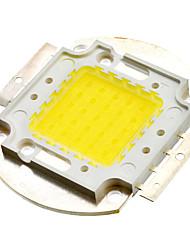 25W 2000LM White Light LED Emitter Metal Plate (16-18V)