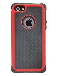 For iPhone 5 Case Shockproof Case Back Cover Case Armor Hard Silicone iPhone SE/5s/5