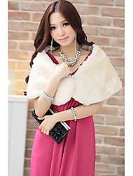 Frauen Extravagant faxu Fur Tippet Wraps