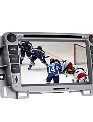 7 pollici 2DIN auto lettore dvd nel cruscotto per gps supporto vela chevrolet, iPod, bt, RDS, touch screen