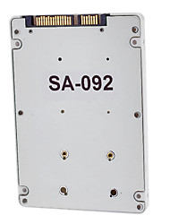 SATA 2.5 Male to mSATA Male 7mm Hard-disk Cartridge