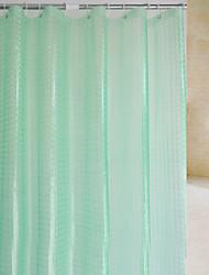 3D opaco ducha PEVA cortina