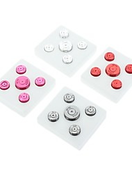 4 x Replacement Buttons for Xbox 360 controller (Assorted Colors)