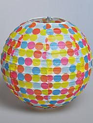 """8 """"Dot lanterne de papier coloré"""