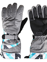 Wind Protection Breathable Full Finger Skiing Gloves