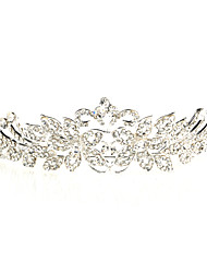 Pretty Alloy Tiaras With Rhinestone For Wedding/Special Occasion