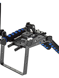 FuLaiShi DR-2 Multi-Funktions-Schulter-Standplatz für DSLR Kamera - Schwarz + Blau
