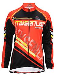 Queda MYSENLAN2013 mulheres e inverno Estilo OPORTUNIDADE Cycling Jacket com Double Composite Fleece