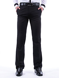 RUILIKE negocios Pantalones rectos