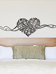Fashion Heart Shape Wall Stickers