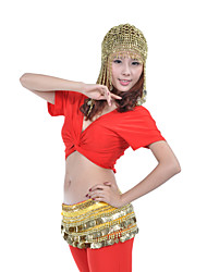 Dance Accessories Headpieces Women's Training Polystyrene Beading / Coins Gold Performance Spring, Fall, Winter, Summer