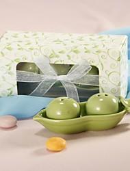 Ferramentas de Cozinha(Branco / Verde) -Tema  Jardim-Chá de Bebê / Casamento Cerâmica