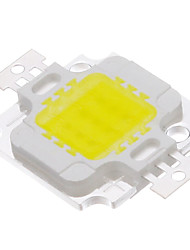 10W COB 820-900LM 6000-6500K Luz Cool White LED Chip (9-12V)