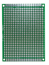 placa protótipo pcb dupla face para (para arduino) (funciona com oficial (para Arduino) placas)