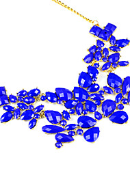 Dame goldene flippige candy Farbe Sommer kühl Kragen Halskette jewellerynl-2058A, b, c, d, e, f