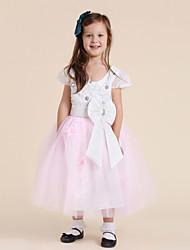 Empalme de la princesa vestido de la muchacha