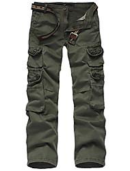 Men's Pants , Cotton Casual/Work PPZ