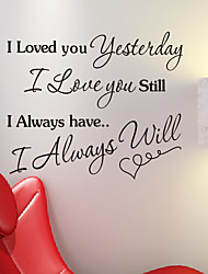 Words Always Love You Wall Stickers