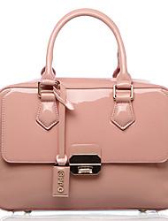 Rosa PU Estilo Moda Vintage Leather Colégio Ocidental OPPO Mulher Totes Bags Crossbody