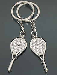 Tennis Racket Keychain - Set of 4 Pairs