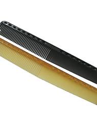 2 piezas de peine con dientes gruesos o finos (colores aleatorios)